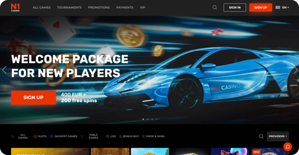 N1 Online Casino Review
