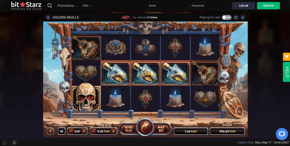 golden skulls slot netgame