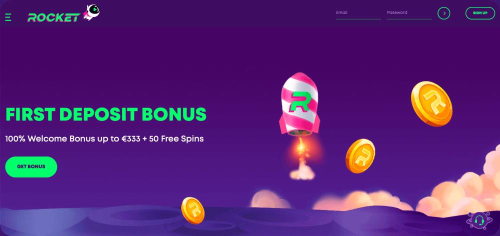 Casino Rocket Review