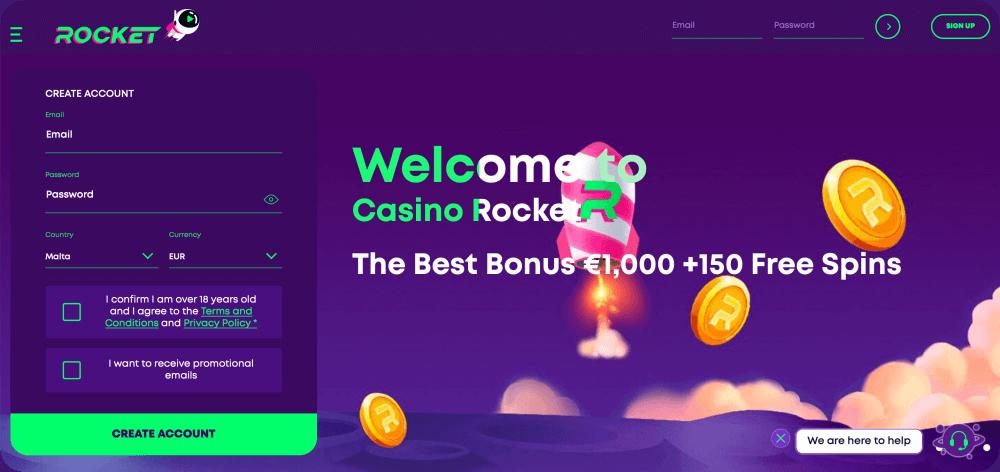 CasinoRocket Review