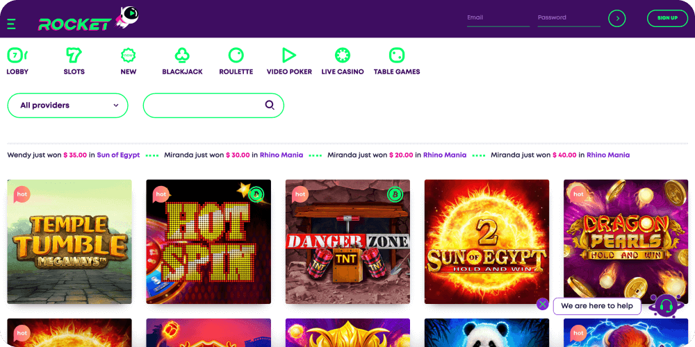 Casino Rocket Online Casino Review