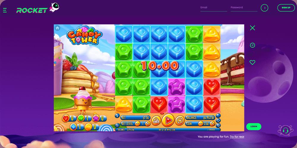 Candy Tower Slot Habanero