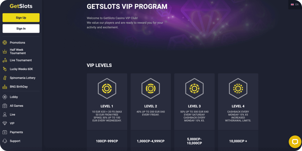 get slots casino review