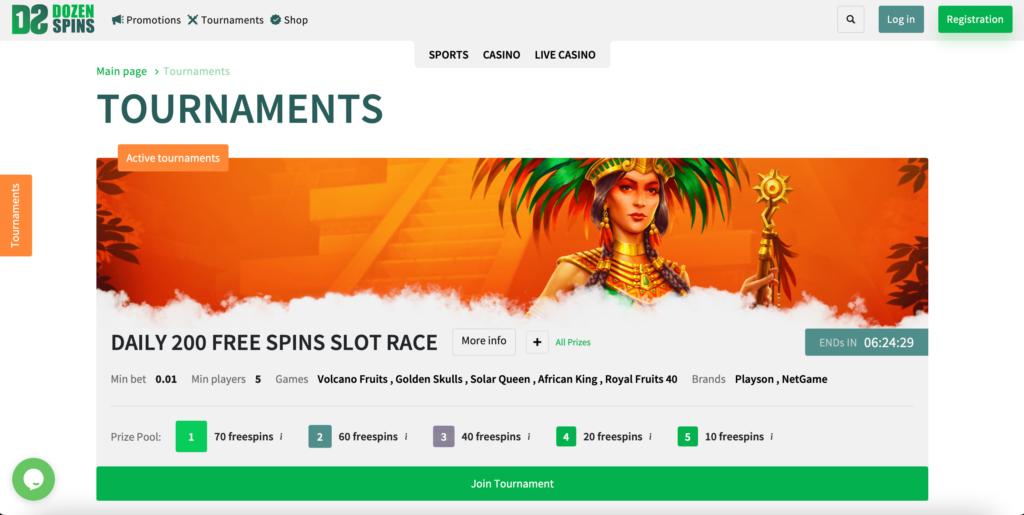 Casino Tournaments