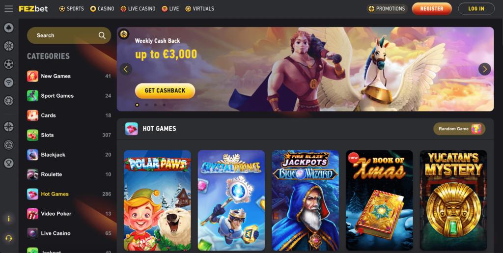 Fezbet Casino Review