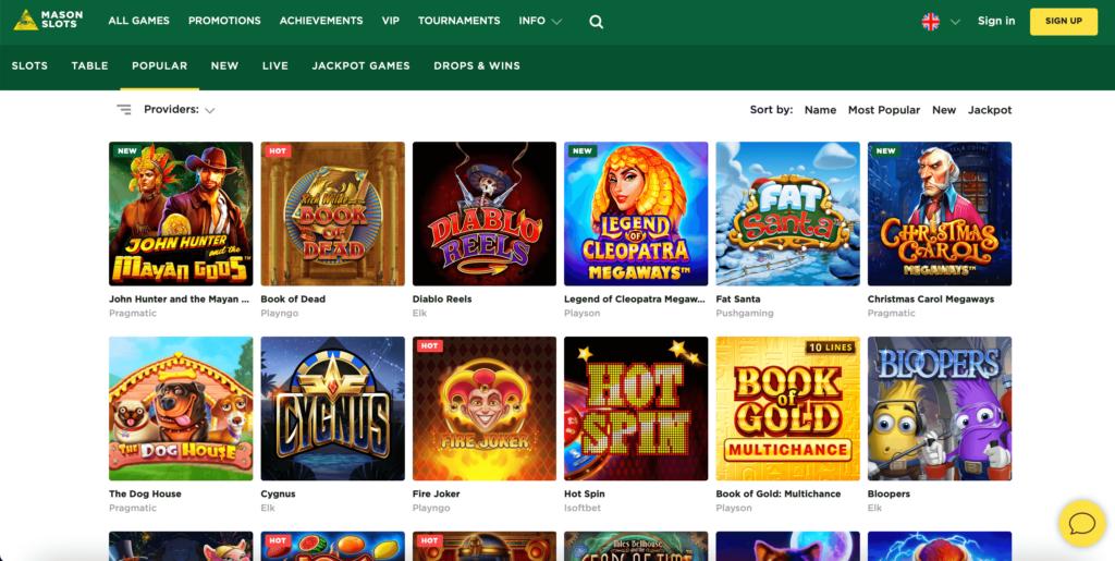 Casino Game Providers