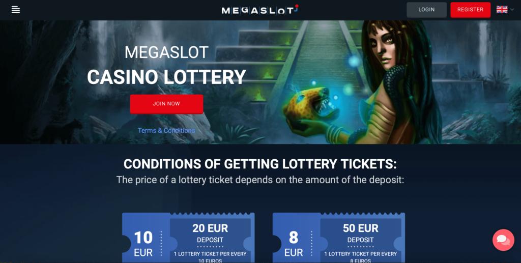 Megaslot Casino Lottery