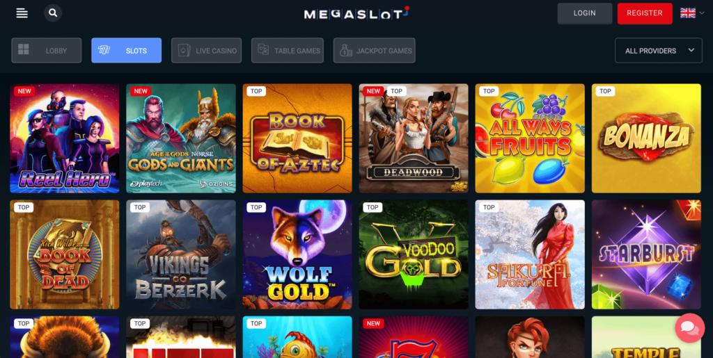 Megaslot Casino Games