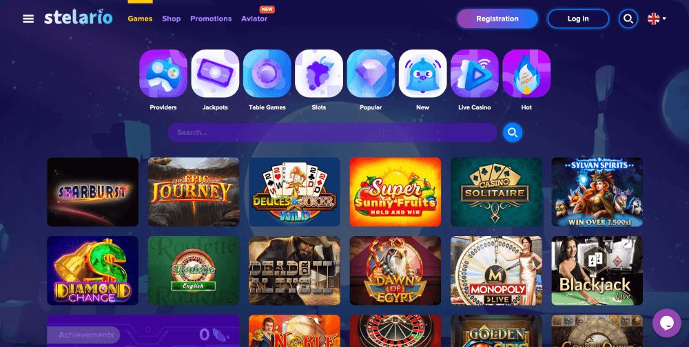 Stelario Online Casino Review