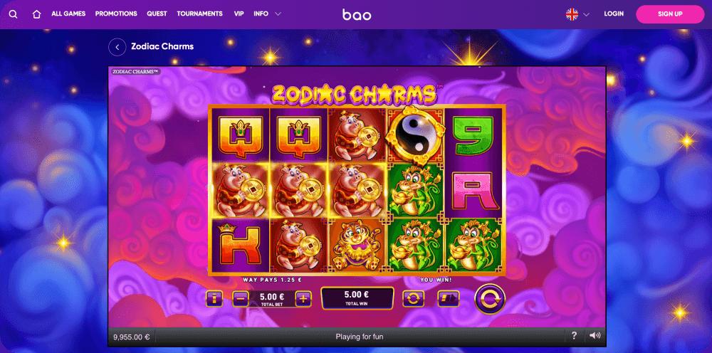 zodiac charms slot game Playtech