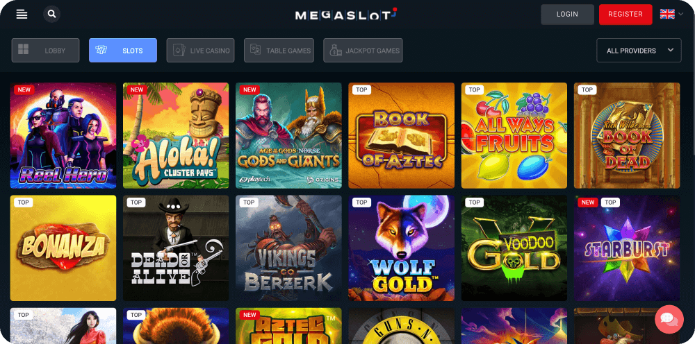 mega slot casino