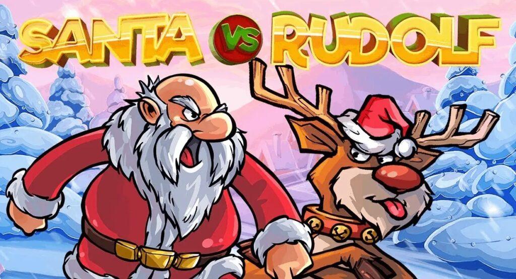 Santa vs Rudolf Slot Game Netent