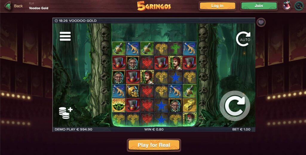 Voodoo Gold ELK Slot Game