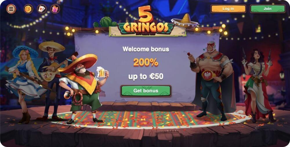 5gringos online casino review
