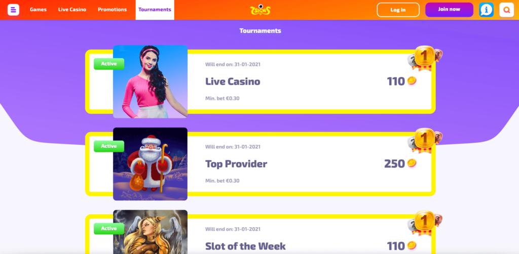 Online Casino Tournaments