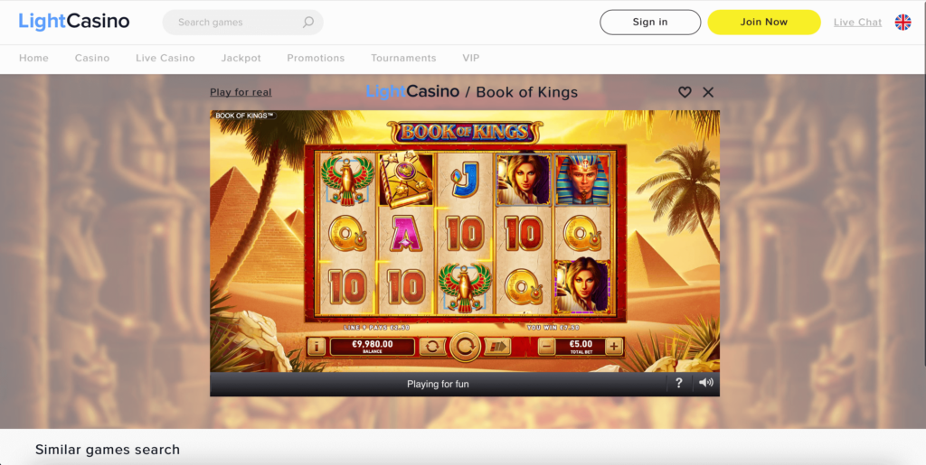 Book of Kings Slot Rarestone Gaming