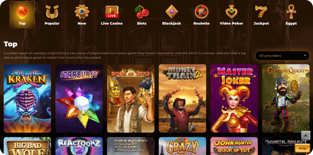 AmunRa online casino review