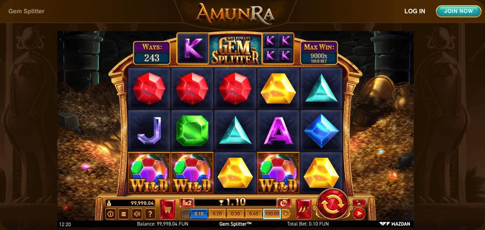 Gem Splitter Multiways slot game Wazdan