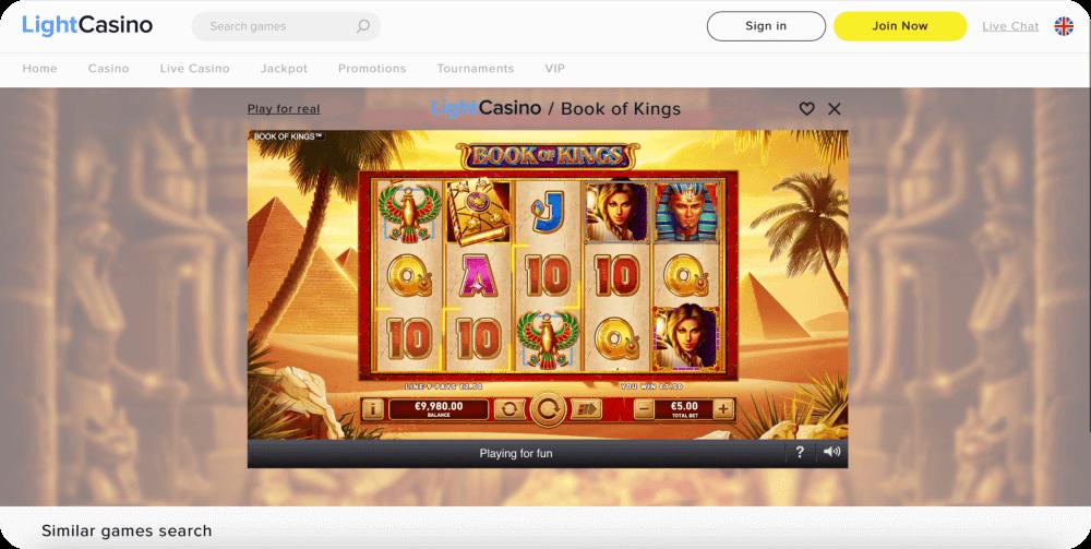 Book of Kings Slot Rarestone Gaming