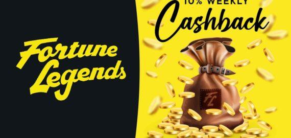 Fortune Legends Real Money Cashback