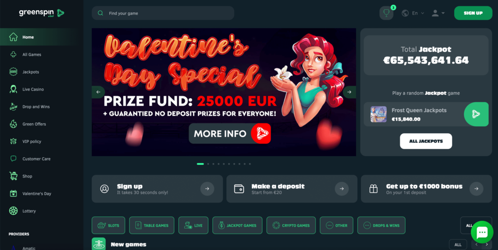 Greenspin.bet Casino Review