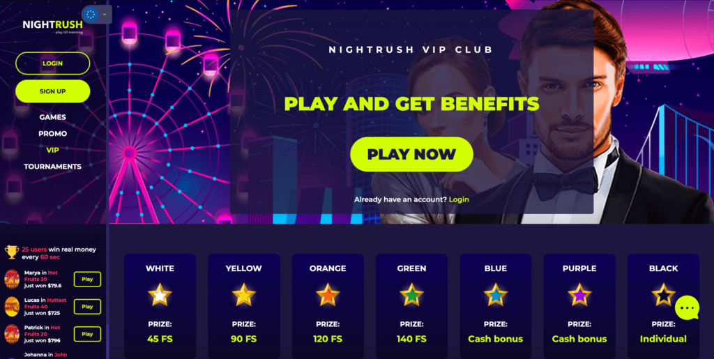 Online Casino VIP Offers