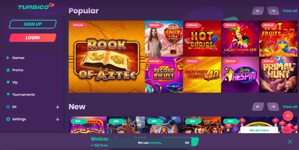 Turbico Online Casino Review