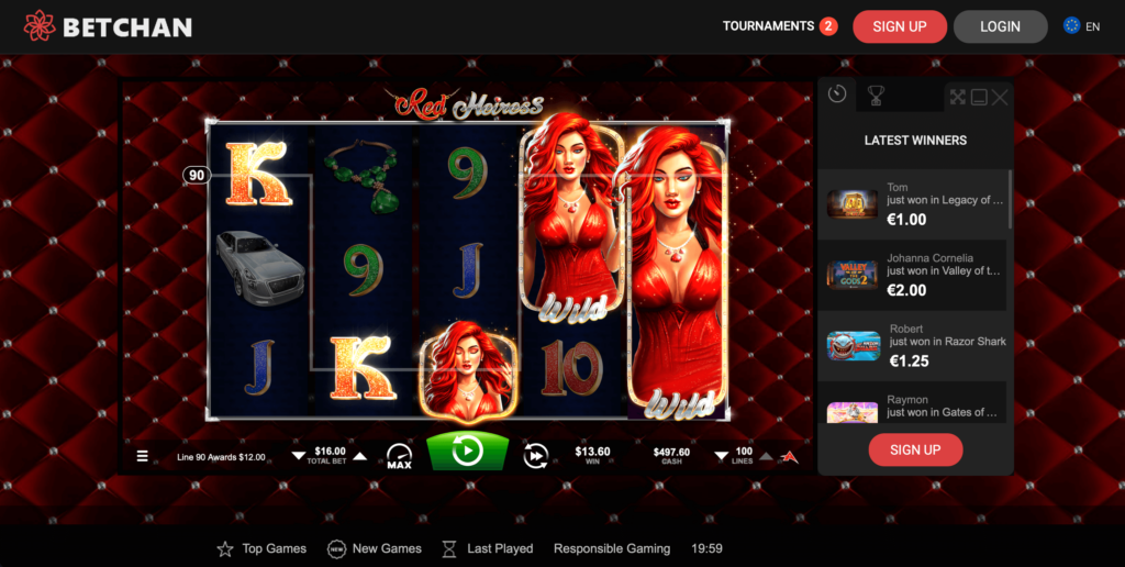 Red Heiress Slot Microgaming