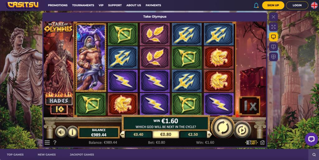 Take Olympus Betsoft Gaming Slot