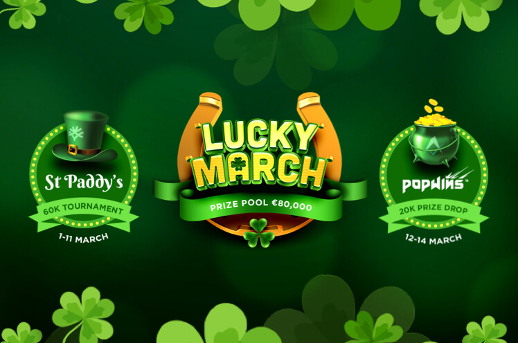 Yggdrasil Lucky March Casino Tournament