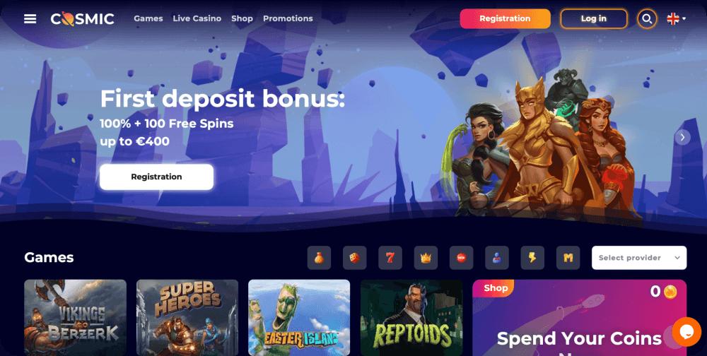 CosmicSlot Casino Review