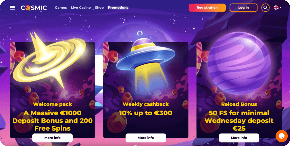 Cosmic Slot