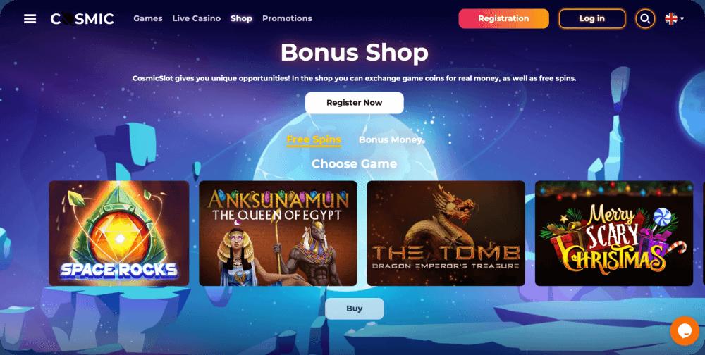CosmicSlot Online Casino Review