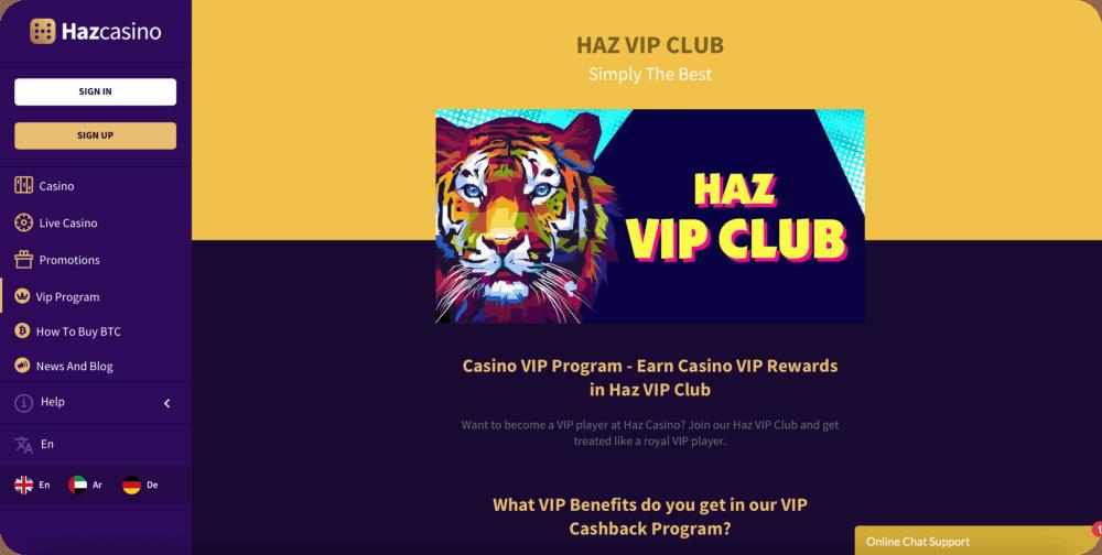 casino vip club online
