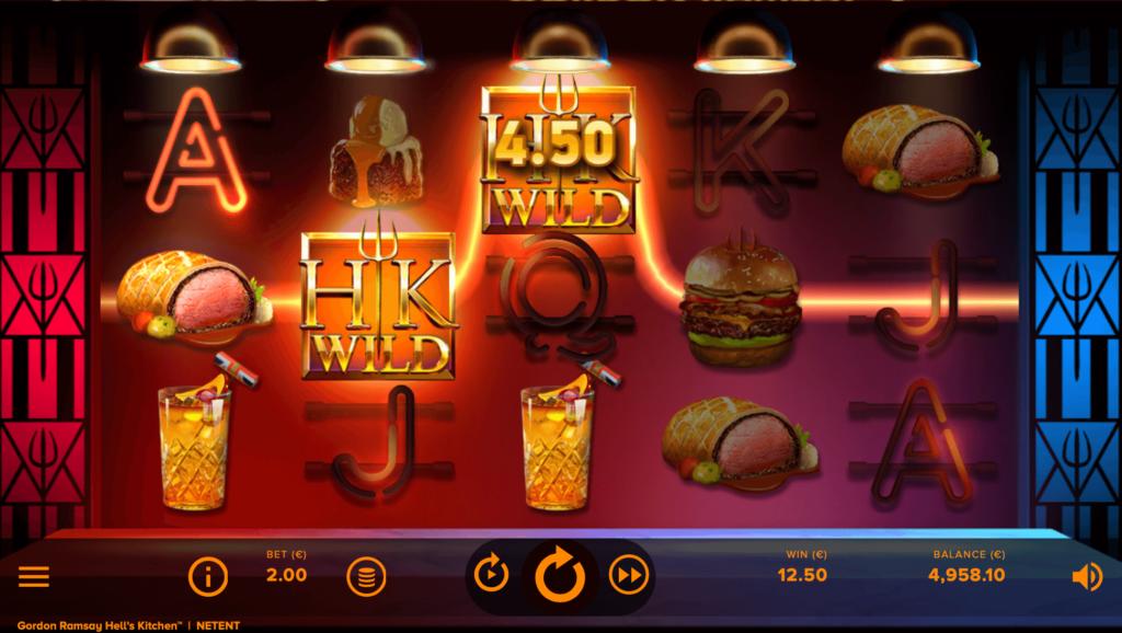Hell's Kitchen Slot NetEnt