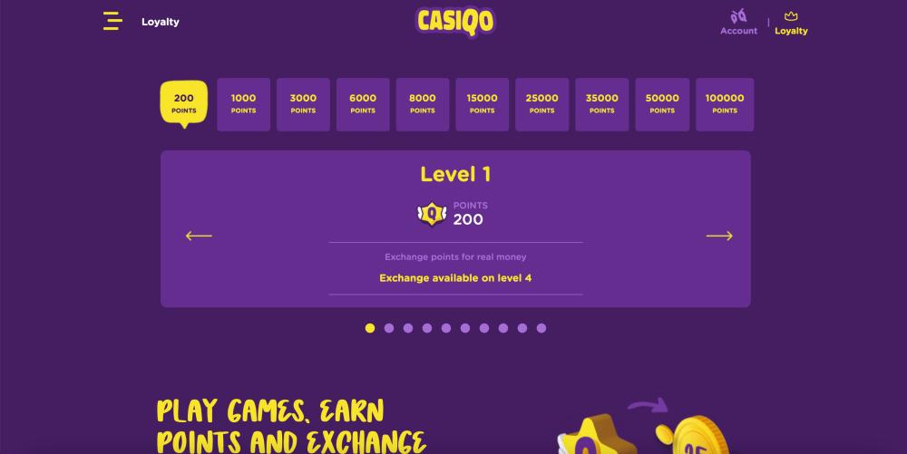 Casiqo Online Casino Review