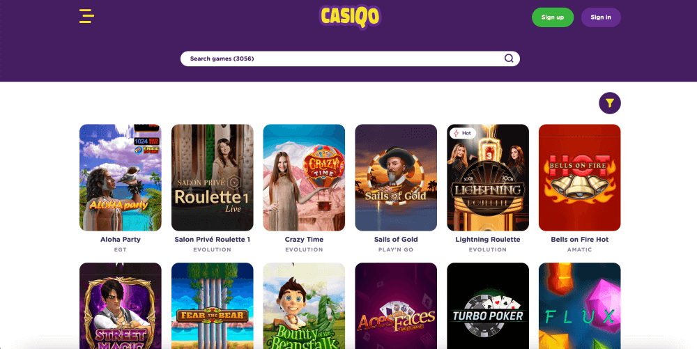Casiqo New Casino