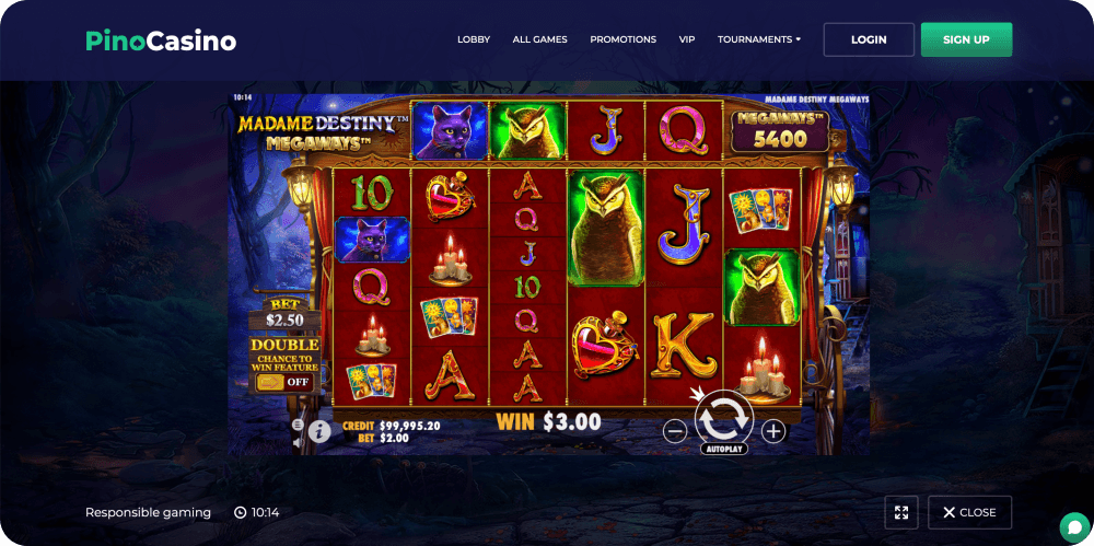 Madame Destiny Megaways Slot Pragmatic Play