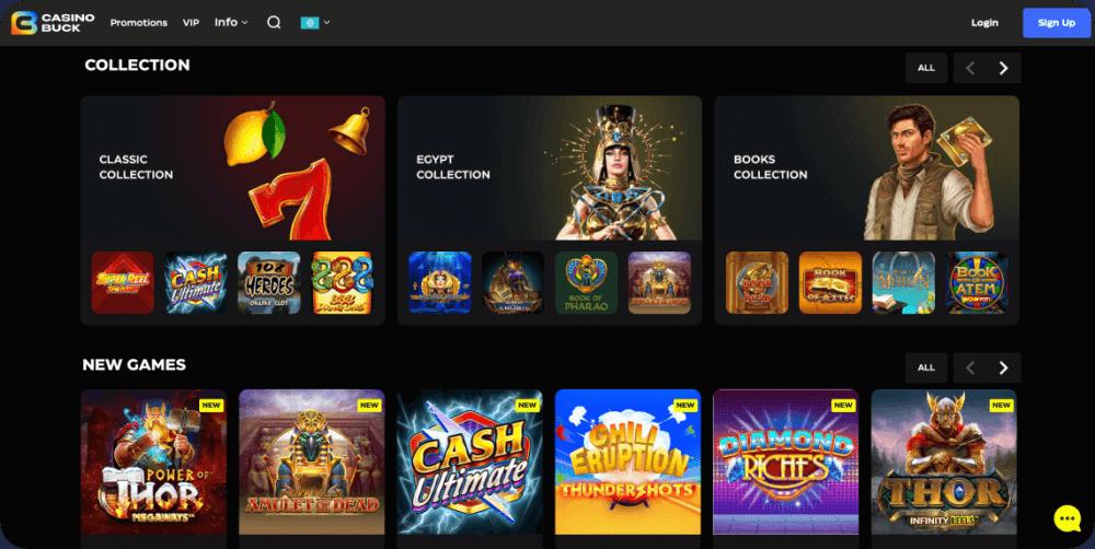 CasinoBuck online casino review