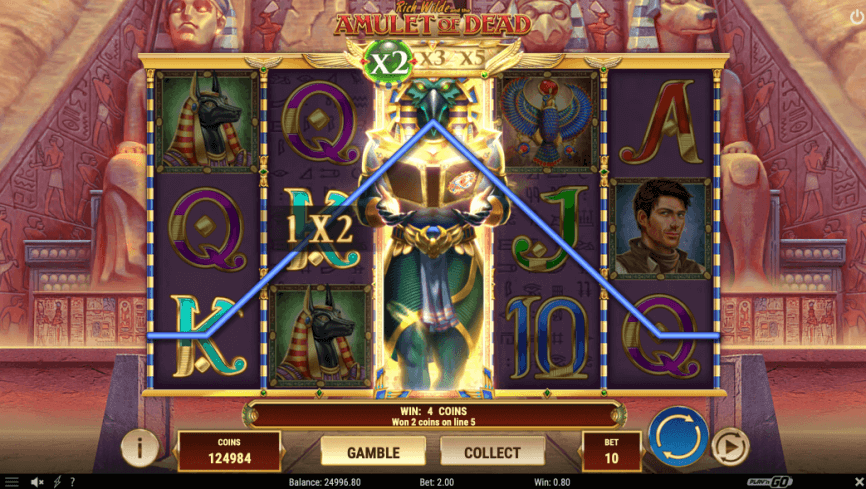 Rich Wilde and the Amulet of Dead Slot Play'n Go