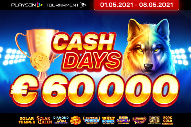 Playson May Cashdays Network Promotion