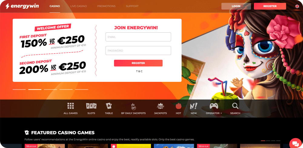 energywin casino review