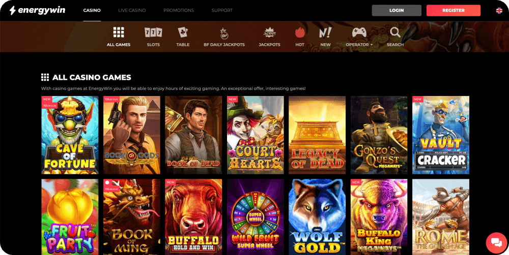 energywin online casino review