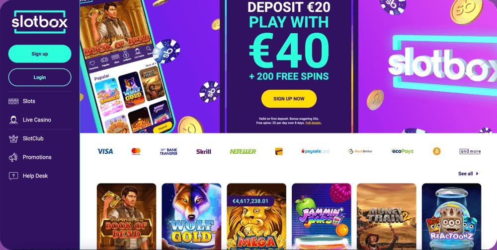 Slotbox Casino Review