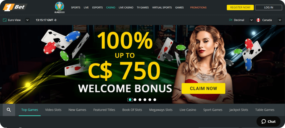 1bet casino review