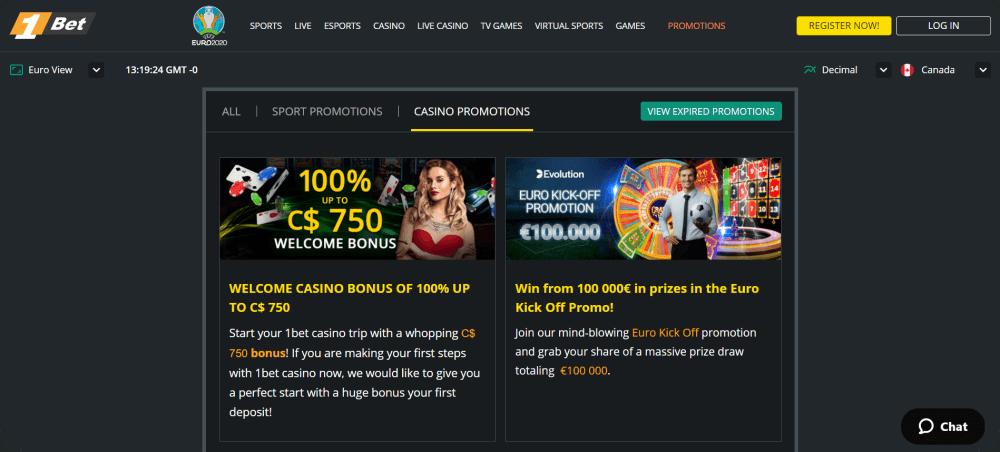 1bet online casino review