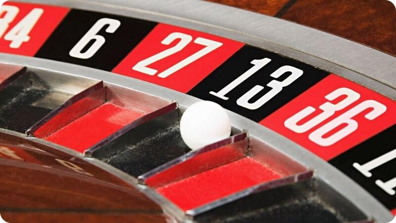 13 black roulette