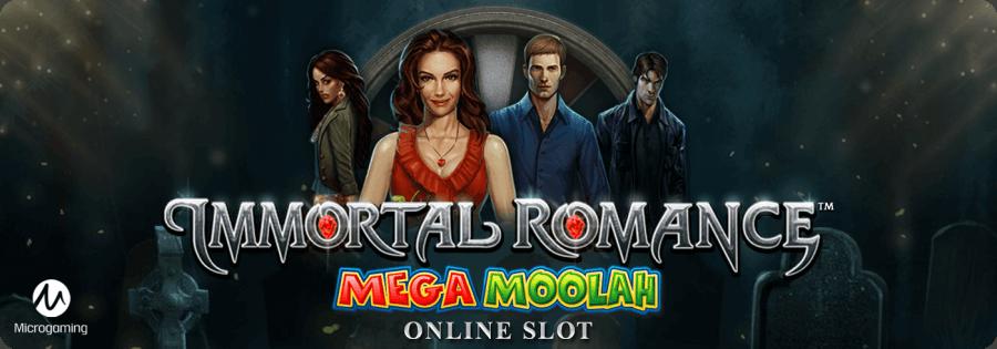Immortal Romance Mega Moolah Microgaming slot