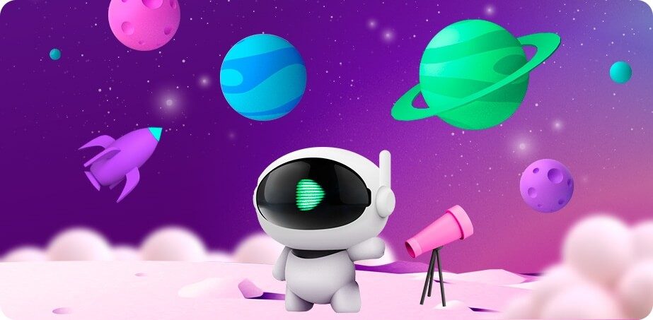 CasinoRocket Free Spins Planetary Booster