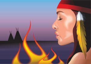 native american -girl-vector_z1tHhuH__L